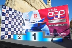 Poster of the podium using my powerboat photo