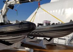 Gemini RIBs for Super Yacht 'Damen Game Changer'